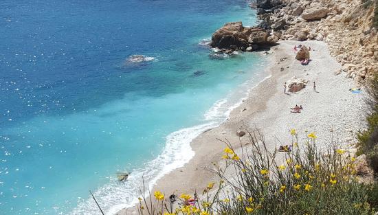Playa de Ambolo - Playas de la Costa Blanca
