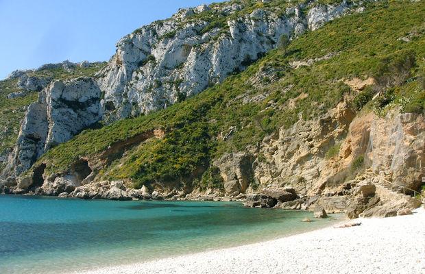 Playa de la Granadella - Playas de la Costa Blanca