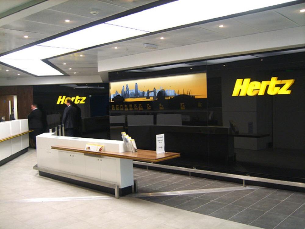 Compañia de alquiler de coches Hertz