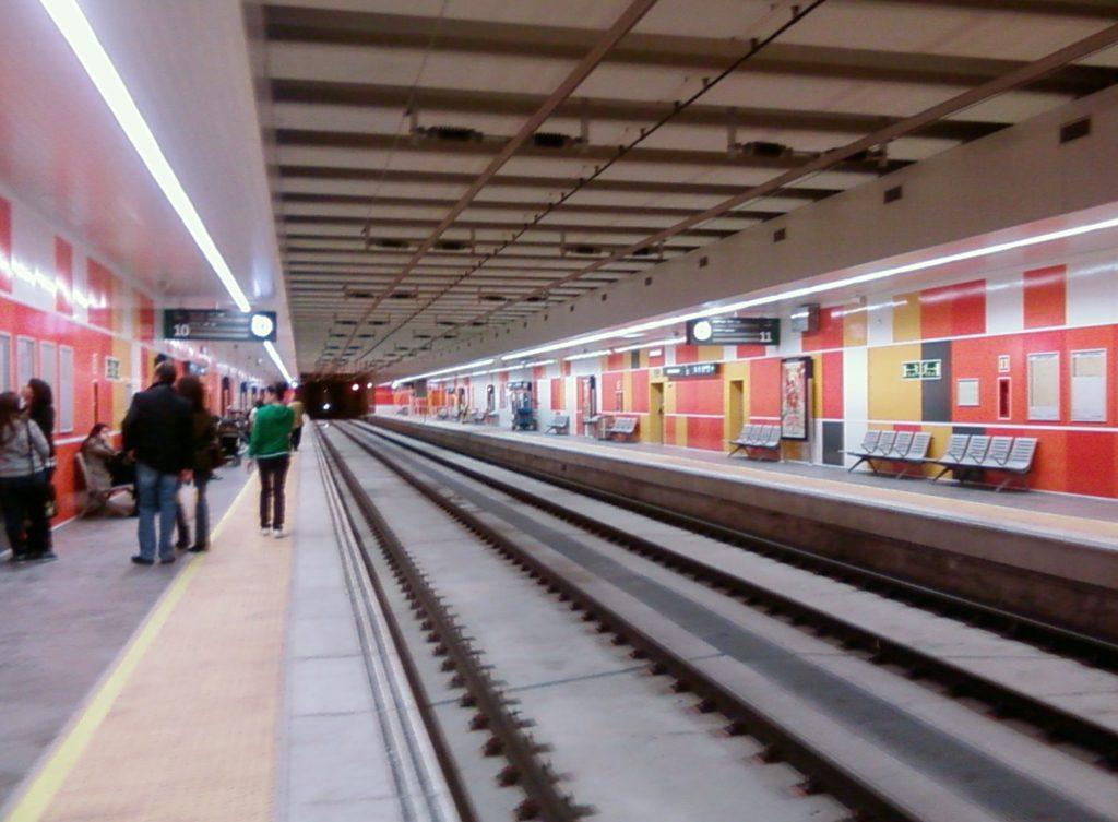 Estación de tren María Zambrano de Málaga